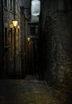 This story seems intimately connected to dark alleyways...
