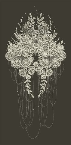 whiteowl (found): a little lacy inspiration