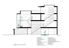 Casa 7x18,Corte