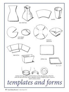 Pottery - Templates on Pinterest | Templates, Ceramic Art and Clay