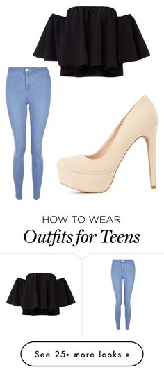"""Untitled #347"" by livgirl-10 on Polyvore featuring New Look and Charlotte Russe"