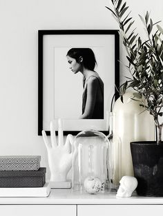 The monochrome space of Annie Lindgren - my scandinavian home