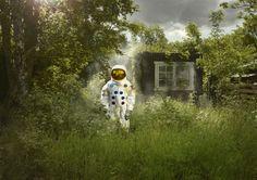 La serie Crash Landed del fotografo Ken Hermann