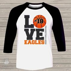 Basketball mom three quarter raglan shirt LOVE - Love Shirts - Ideas of Love Shirts - - basketball shirt custom basketball mom raglan shirt Basketball Mom Shirts, Custom Basketball, Basketball Workouts, Basketball Quotes, Love And Basketball, Basketball Hoop, Basketball Season, Basketball Playoffs, Basketball Stuff