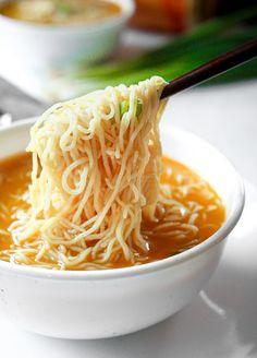 Best Ramen Recipe, Best Soup Recipes, Keto Recipes, Chicken Recipes, Healthy Recipes, Noodle Recipes, Recipes Dinner, Easy Ramen Recipes, Healthy Foods
