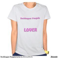 Rockhopper Penguin Lover T-shirt