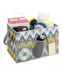 Great for organizing trunk