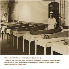 Insane Asylum Patients in 1800