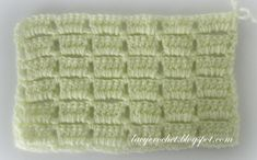 Another stitch for my collection !                            Multiple of 5, plus 2 Row 1 : sc in 2 nd  ch from hook, *ch 5, ...