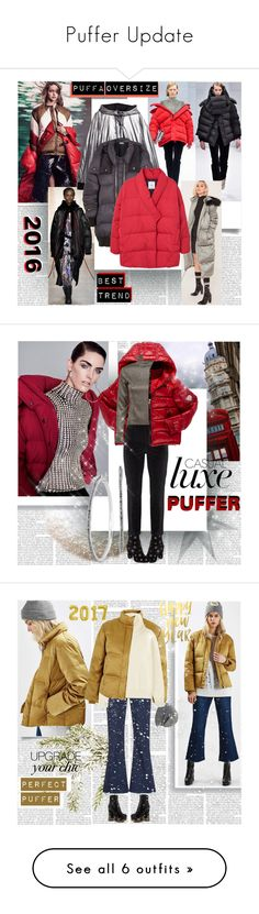 """Puffer Update"" by stylepersonal ❤ liked on Polyvore featuring Puffa, DKNY, Missguided, STELLA McCARTNEY, MANGO, besttrend2016, Therapy, Moncler, Steve Madden and NYDJ"