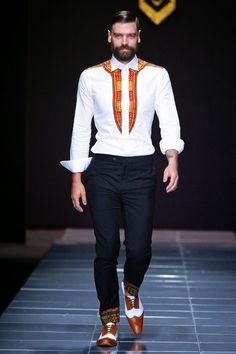 Sheria Ngowi Spring/Summer 2014 - Mercedes-Benz Fashion Week Sudáfrica | Male Fashion Trends