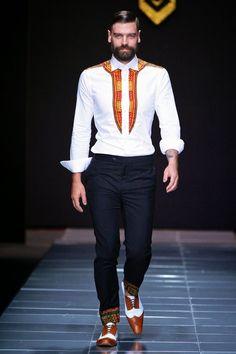 Sheria Ngowi Spring/Summer 2014 - Mercedes-Benz Fashion Week Sudáfrica | Male Fashion Trends