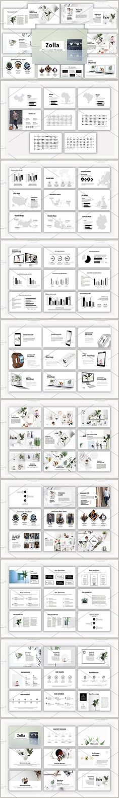 Zolla Powerpoint Template. Presentation Templates