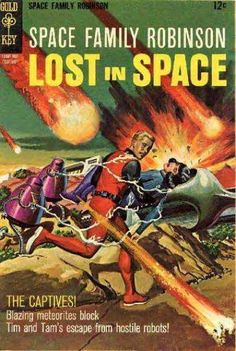 Lost In Space - Meteor Shower - Captives - Robots - Escape