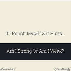 #strong or #weak  #DaretoZare #ZareBeauty #skincare #supplement #diet #nutrition #vitamins #beauty #healthy #naturalbeauty #girl #bestfriends #dusk #kik #tree www.ZareBeauty.com
