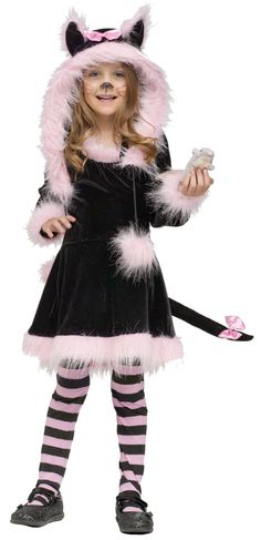 Pretty Kitty Toddler Costume from BuyCostumes.com