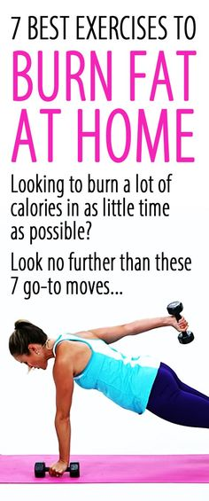 Looking for at-home exercises to burn the MOST FAT, calories, increase your metabolism, and speed up the weight loss? Look no further than these 7 go-to moves! If you don't feel like going to the gym - with these fat-blasters, you don't even need a gym membership – or even any fancy equipment, for that matter.