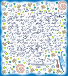 Tooth Fairy Note: Thank You for Another Tooth - Rooftop Post Free Printables