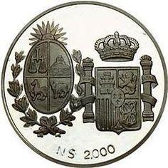 Coin; Pesos, Uruguay, Undated.