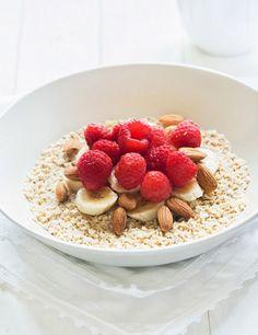 Ocho desayunos sanos, fáciles y rápidos