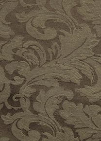 Damask Chocolate fabric is made of the finest quality damask like woven textile with beautiful design and wonderful silky texture