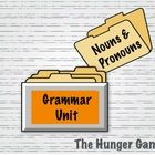 This grammar activity pulls sentences from the book The Hunger Games (chapters 2-3)! Students will begin to see grammar examples while reading.   T...