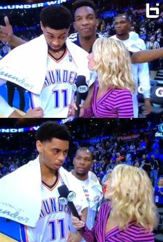 2f7d726ce146 Kevin Durant videobombs Jeremy Lamb with a shimmy dance