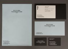 /// Delfina Foundation - Identity design by Spin.