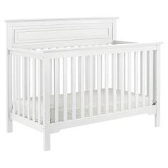 Our bestselling Autumn 4-in-1 Crib is designed to fit any nursery from traditional to contemporary with a high headboard, sturdy slats and refined molding. Combining traditional appeal with timeless clean lines, this GREENGUARD Gold Certified crib is constructed of 100% natural solid New Zealand pine wood. Offers easy conversion to a toddler bed, daybed and full-sized bed. Complete your nursery; Autumn 4-in-1 Convertible Crib pairs with Autumn 4-Drawer Changer Dresser (M4355), Autumn…