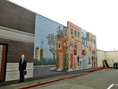 Tour Northern California: Murals in Eureka California and the Surrealistic Time Machine