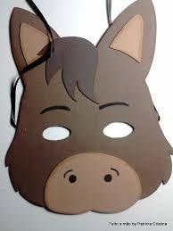 Resultado de imagem para molde de mascara de vaca em eva