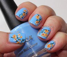 Orange flowers for Sophia
