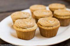 salted caramel cupcakes photo