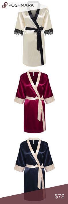 Sexy Satin Robe🌸 Soft, Sexy and Chic❤️ Intimates & Sleepwear Robes
