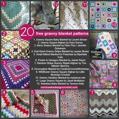 Die 462 Besten Bilder Von Häkeln Decken Kissen Crochet Afghan