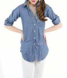 Ann Mashburn Boyfriend Shirt / AnnMashburn.com