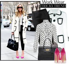 """work wear"" by ecem1 ❤ liked on Polyvore"