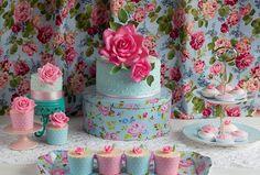DSC 0024 4 e1378539074469 Tea party shabby chic in rosa e turchese