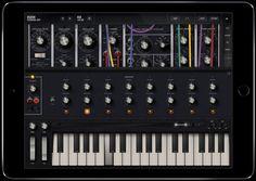 Model 15 is a Moog Synthesizer App for iOS @moogmusicinc   Adafruit