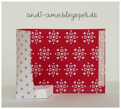 Anleitung Tutorial Box in a bag Goodies mit dem Designerpapier Liebe Grüße bei Stampin Up Demonstratorin Andrea Schwetz auf www.andi-amo.blogspot.de