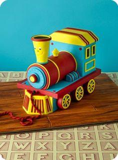 O Trem sorridente ...