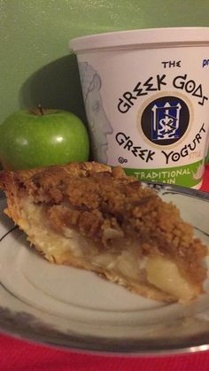 Gina's Greek Gods Yogurt Apple Cinnamon Streusel Pie - Since this recipe is so good, you have to make 2. One for you and one to share! Thank you @ReginaPittman