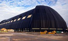 Goodyear Airdock- Akron, OH.  National Historic Civil Engineering Landmark