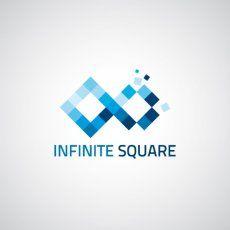 Logo victorieux INFINITE SQUARE   Logos, Identity & Branding
