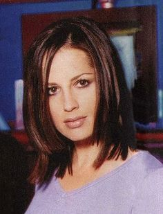 Paula Marshall - almost sure this is from a Snoops shoot