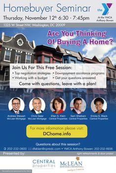 RealEstate HomeBuyer Seminar Flyer Design Branding Flyer - Home buyer seminar flyer template