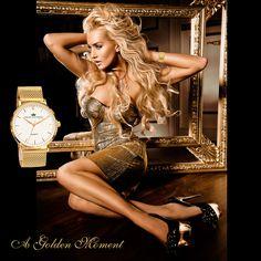 Where Professional Models Meet Model Photographers - ModelMayhem Little Dresses, Cute Dresses, Stunningly Beautiful, Beautiful Women, Beautiful Eyes, Woman In Gold, Tumblr, Glamour, Mellow Yellow