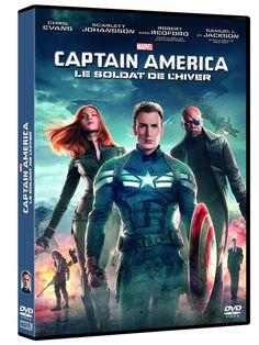 Captain America : Le soldat de l hiver - DVD NEUF