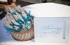 destination wedding ideas - brush sand from your feet