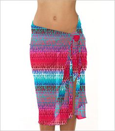 Sunsets Separates Day Break Pareo Cover-Up Style 90